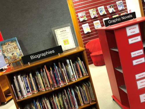 Non Fiction Section Dividers