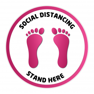 Social Distancing Sign (SD9)