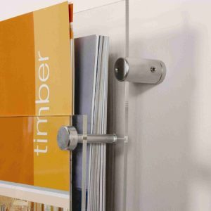 Brochure Holder – Wall Mount